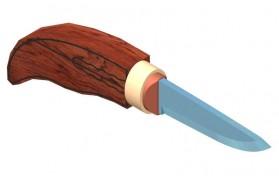 Всадной монтаж рукояти ножа