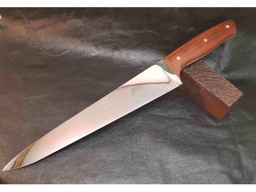Кухонный нож. Шеф-нож ручной работы №4