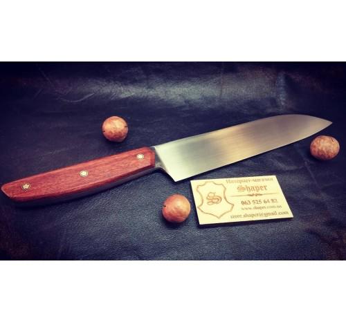 Кухонный нож. Шеф-нож ручной работы №6