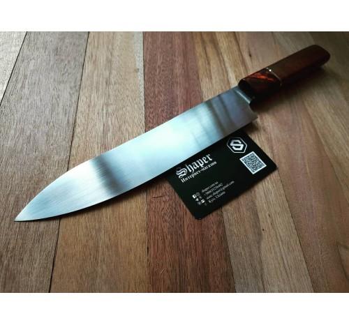 Кухонный нож. Шеф-нож ручной работы №9