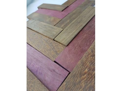 Накладки из экзотической древесины